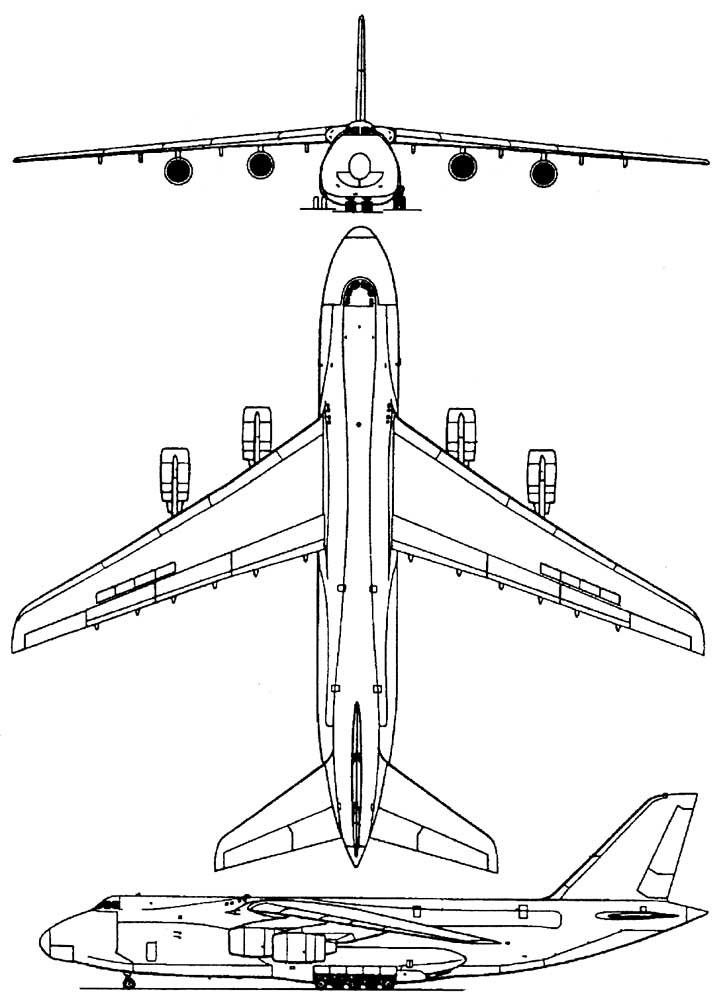 Схема Ан-124
