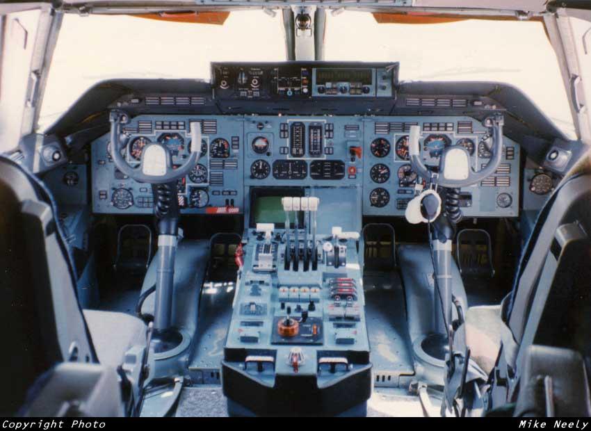 Кабина Ан-124