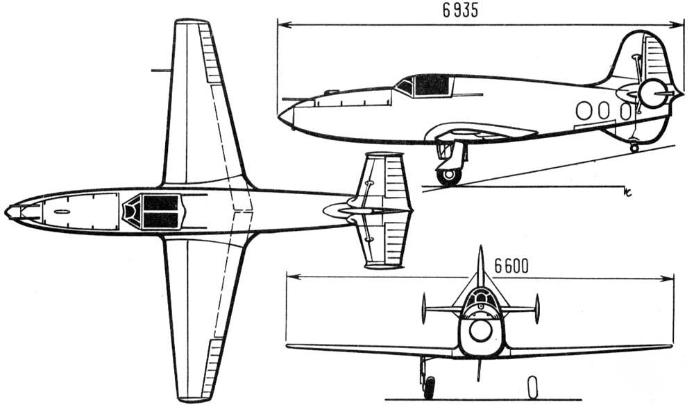 Модель самолета своими руками чертежи 4