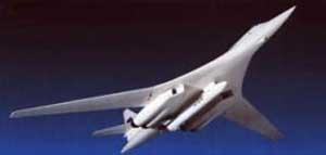 Подробности о гражданской версии бомбардировщика Ту-160