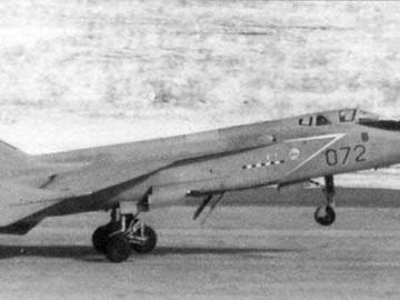 Взлет МиГ-31Д