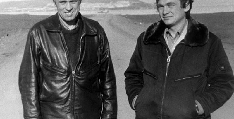 лётчик-испытатель Роман Таскаев и штурман-испытатель Леонид Попов