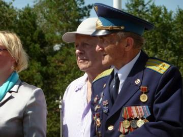 В.В.Мигунов на праздновании 90-летия ОВВАКУЛ