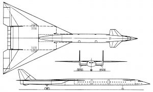 Проекции NAA SST (1961)