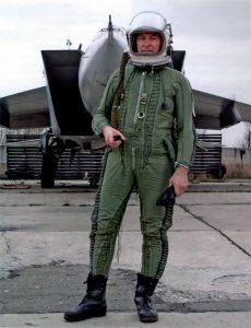 заслуженный летчик-испытатель СССР Валентин Михайлович Самусев