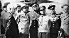 Кубинка. Полковник Клягин А.С.делает доклад Л.И. Брежневу.