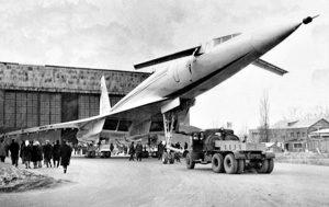 Выкатка Ту-144