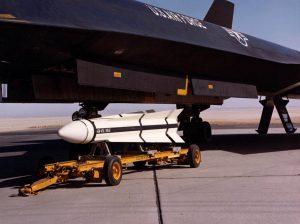 AIM-47 rocket for YF-12A