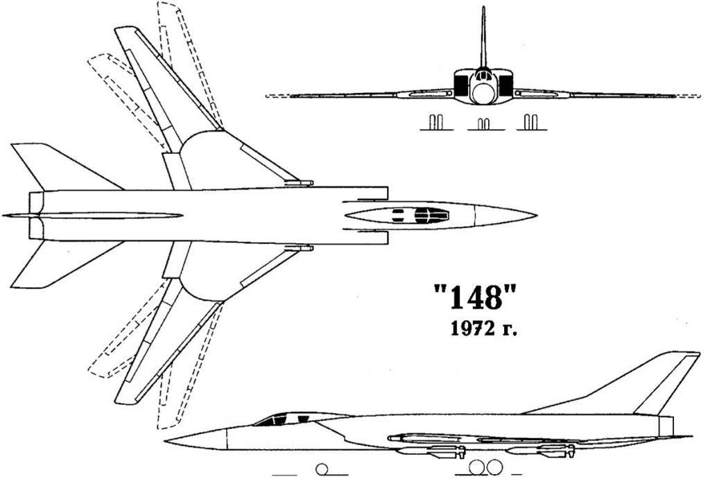 Ту-148-33 (1972)