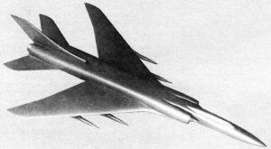 Модель Ту-138-60