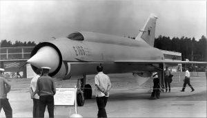 Е-152М в Домодедово (1967)