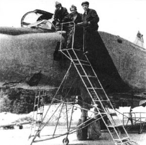 МиГ-25РБ (серийный номер 0402) 63-го отдельного авиационного отряда после возвращения из Египта