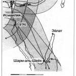 Маршруты полетов МиГ-25Р